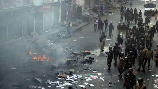 दिल्लीमा हिंसात्मक दंगा