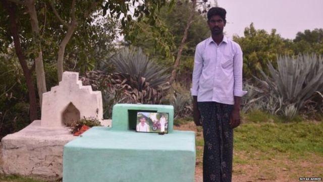 आत्महत्याग्रस्त शेतकऱ्याचा मुलगा