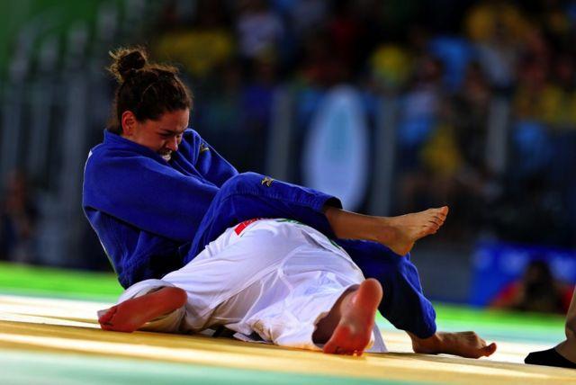 Atleta de judo