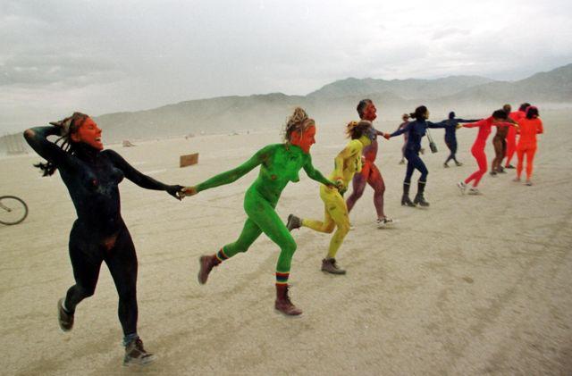 Фестиваль Burning Man, 1998 год.