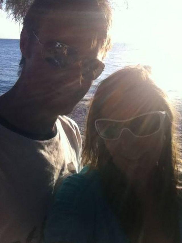 Sally y Jamie de vacaciones en Grecia