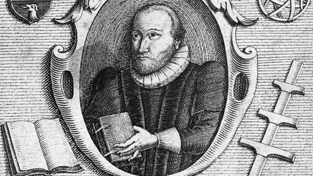 Gravure de C.Le Blon de Robert Burton (1577-1640)