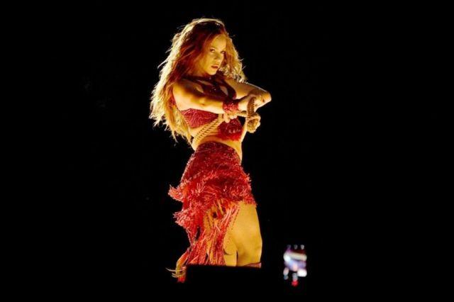 Shakira en el Super Bowl