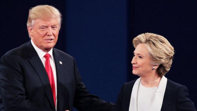 Trump dan Clinton