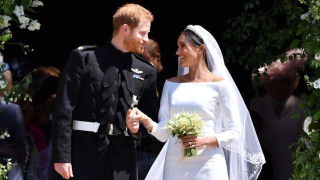 لقطة من الزفاف الملكي