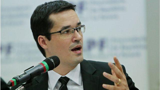 O procurador federal Deltan Dallagnol, que ofereceu a denúncia contra Lula