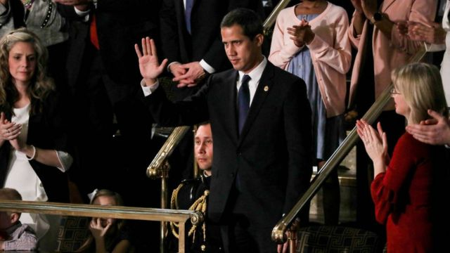 Juan Guaidó in the United States Congress.