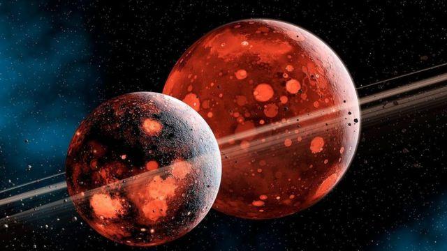Місяць утворився з уламків, викинутих у космос Теєю