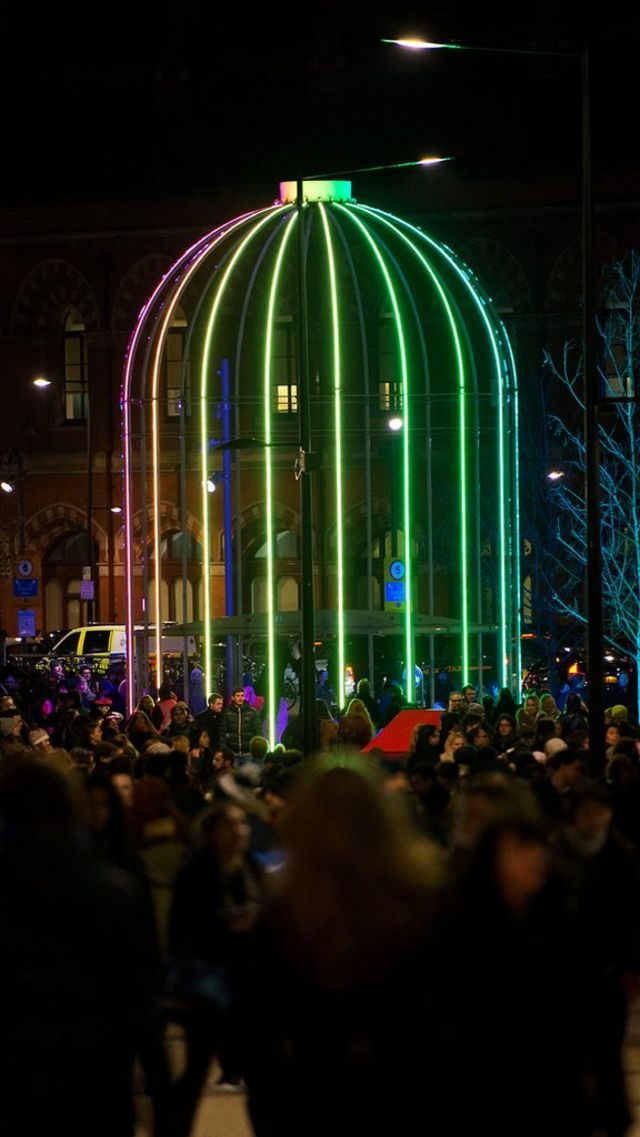 Lumiere London Festival: Installations switched off due to crowds