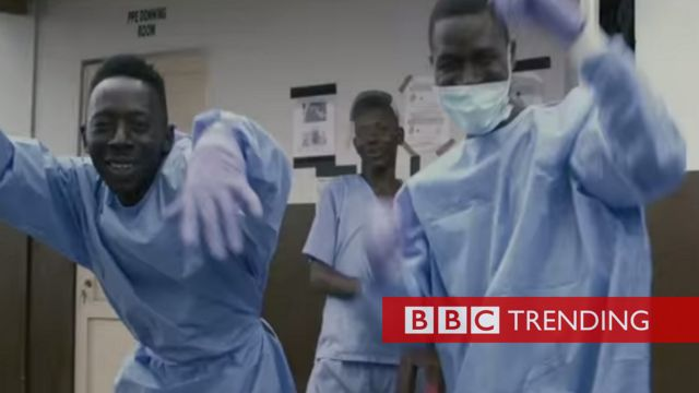 Medical workers celebrate end of Ebola in Sierra Leone