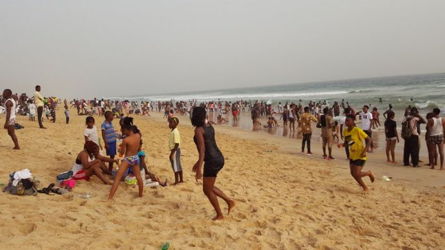 People for beach.