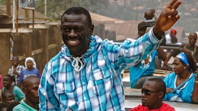 Hoggaamiyihii hore ee mucaaradka ee dalka Ugandha, Dr. Kizza Besigye