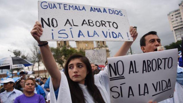 Marcha del 2 de septiembre en contra del aborto.