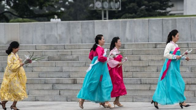 북한 여성