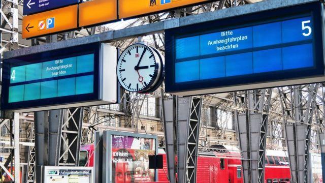 Estación de trenes de Frankfurt afectada por el ramsonware