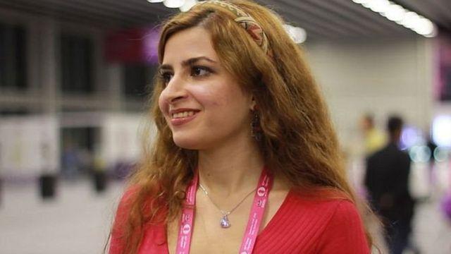 درسا درخشانی بدون حجاب در مسابقات جبلالطارق حاضر شد
