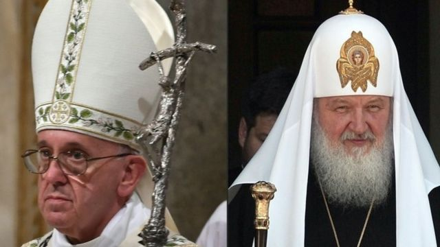 Pope and Russian patriarch edge towards warmer relations