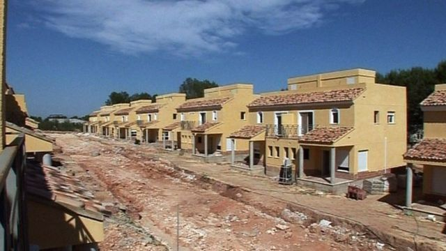 Housing development in Spain