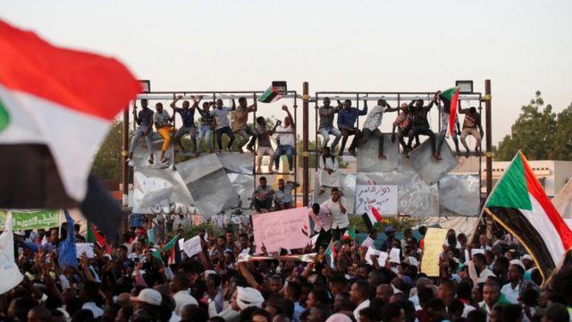 Waandamaji wa Sudan