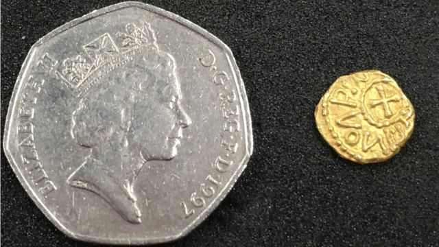 Anglo-Saxon coin find near York is 'jaw dropping'