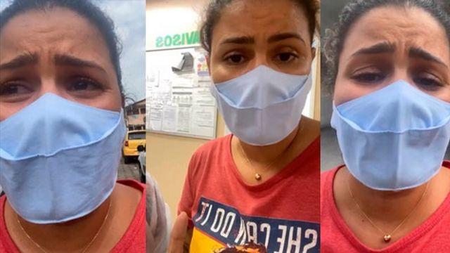 Thalita Rocha em vídeo que viralizou