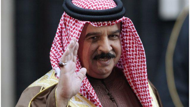 ملك البحرين حمد بن عيسى آل خليفة