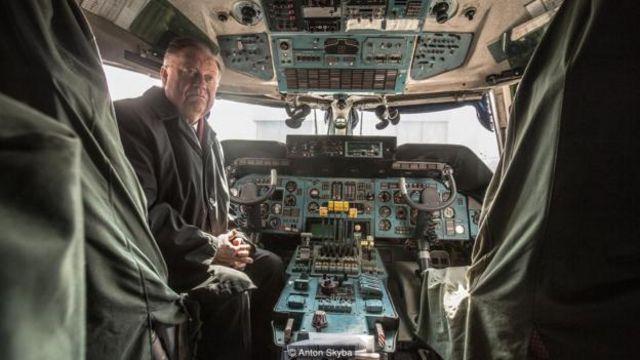 Alexander Galunenko là người đầu tiên lái chiếc máy bay An-225.