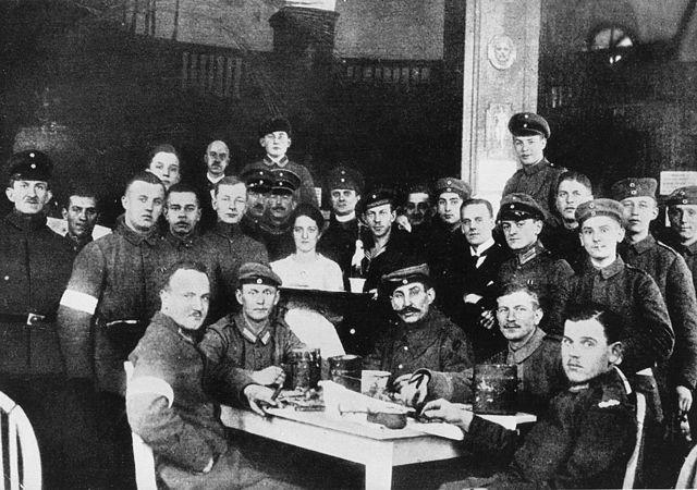 La división implicada en el asesinato de Rosa Luxemburgo y Karl Liebknecht en el Hotel Edén ese día.