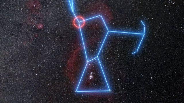 Iagem da constelação de Orion