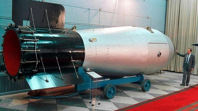 Un modelo de la Bomba del Zar