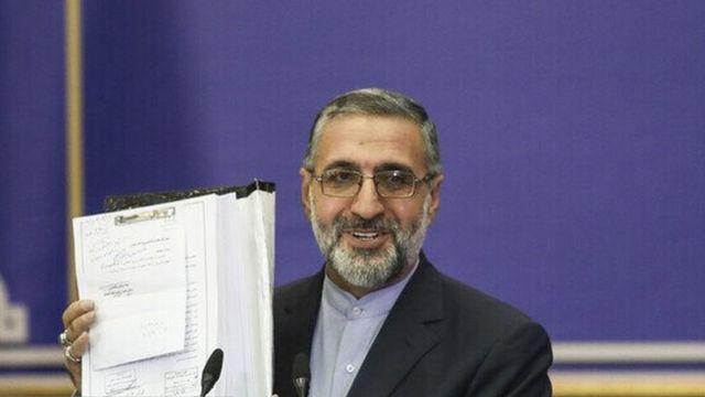 غلامحسین اسماعیلی سخنگوی قوه قضائیه جمهوری اسلامی ایران