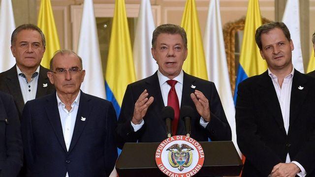 Santos habla tras el referendo