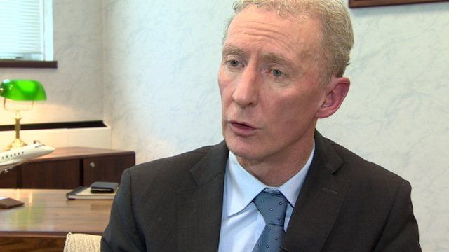 Bombardier Vice-President Michael Ryan has said Northern Ireland will still play a key role in the firm's global operation