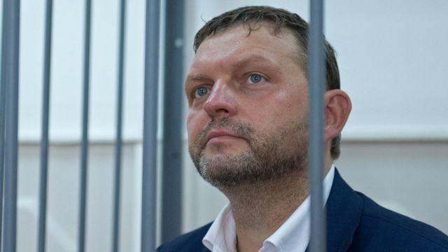 Бывший глава Кировской области Никита Белых