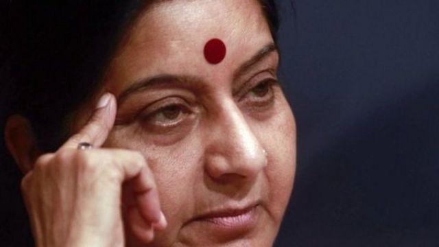 وزيرة خارجية الهند سوشما سواراج