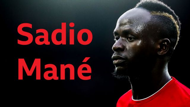 Liverpool star and Senegalese player Sadio Mané