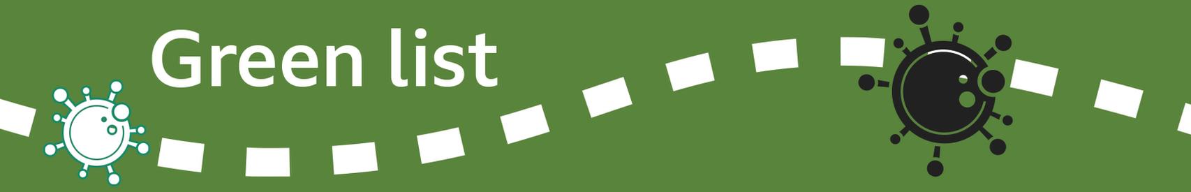 Bannière de menu vert (version 2)