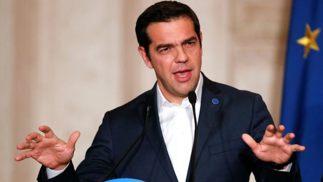 Yunanistan Başbakanı Alexis Çipras