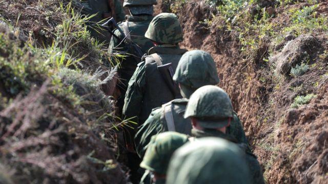 Россия, Украина, военные, Донбасс