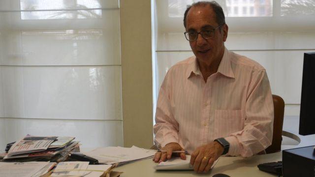 Presidente da UGT, Ricardo Patah