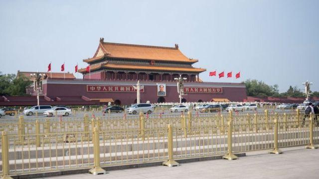 La Plaza de Tiananmen en la actualidad