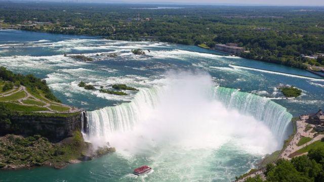 Ниагарский водопад с канадской стороны