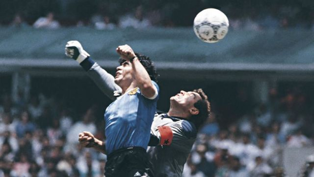 Maradona en Mexico 96