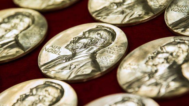 Медали лауреатов Нобелевской премии