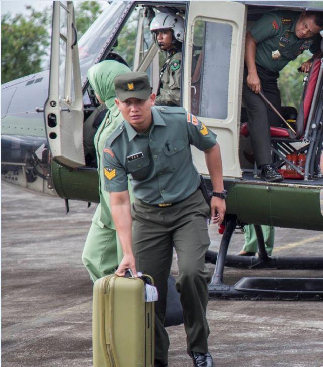 Selama ini Panglima TNI Jenderal Gatot Nurmantyo sudah beberapa kali berkunjung ke AS tanpa ada masalah.