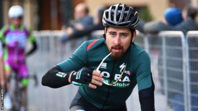 Peter Sagan one of three Bora-Hansgrohe riders to test positive for  coronavirus - BBC Sport
