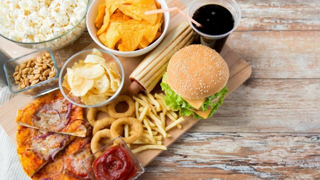 Image of processed foods