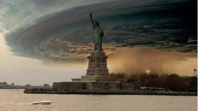 Doctored images emerged as Hurricane Sandy hit New York in 2012