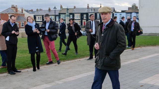 Nigel Farage in Hartlepool