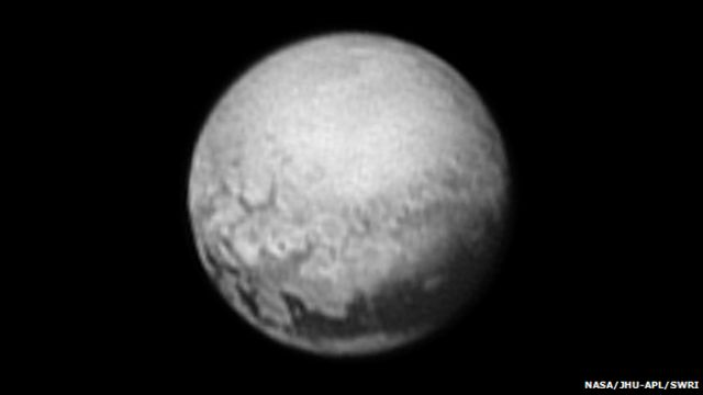 New Horizons: Pluto's surface sharpens for Nasa probe